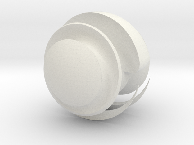 Sharp Sphere 3d printed