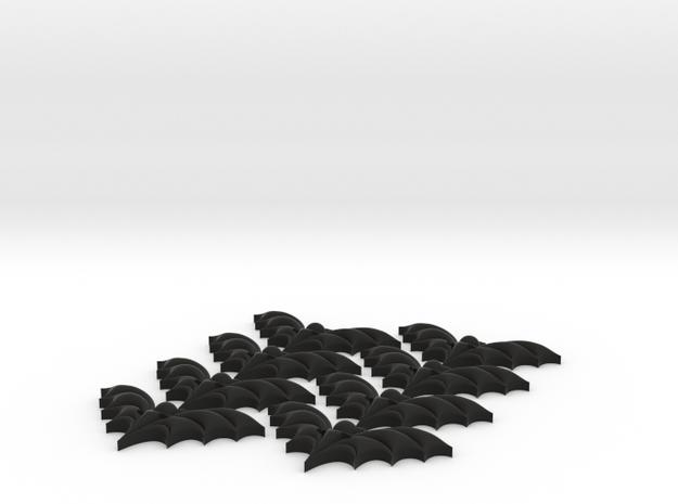 Bat Buttons #2 3d printed