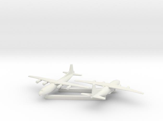 1/600 Antonov AN 12 Shaanxi Y8 x2 3d printed