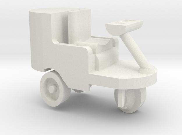Reinigungsmaschine für Spur G in White Natural Versatile Plastic