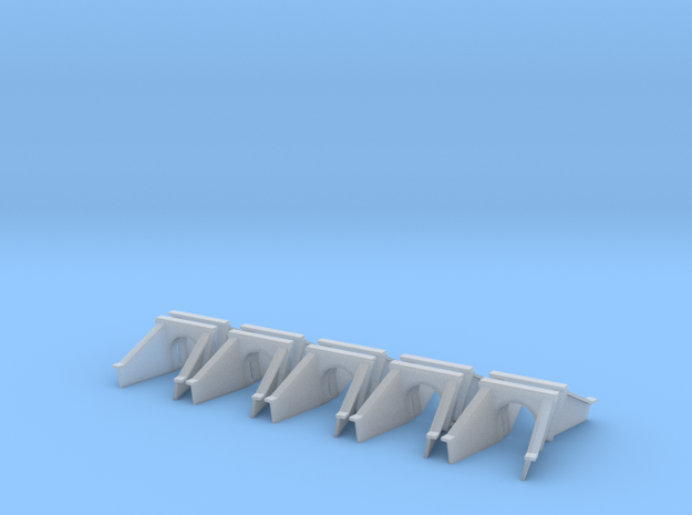 5 Foot Concrete Culvert HO X 10 in Smooth Fine Detail Plastic