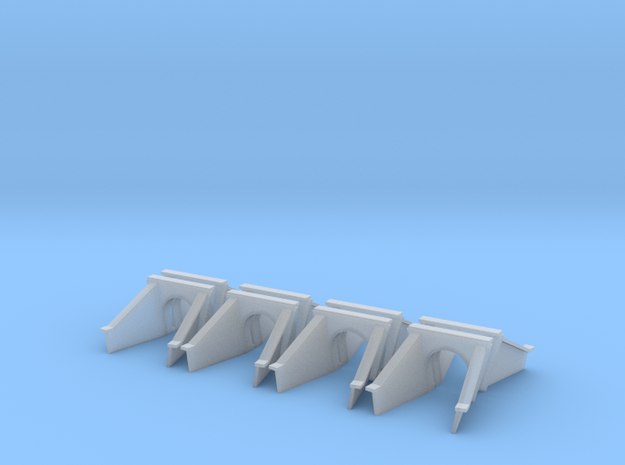 5 Foot Concrete Culvert HO X 8 in Smooth Fine Detail Plastic