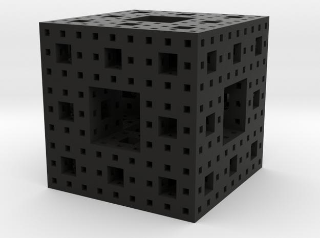 Menger Sponge 3 iterations 3d printed