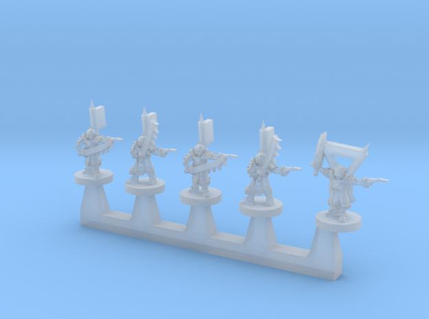 Zho Locust Squad 3d printed