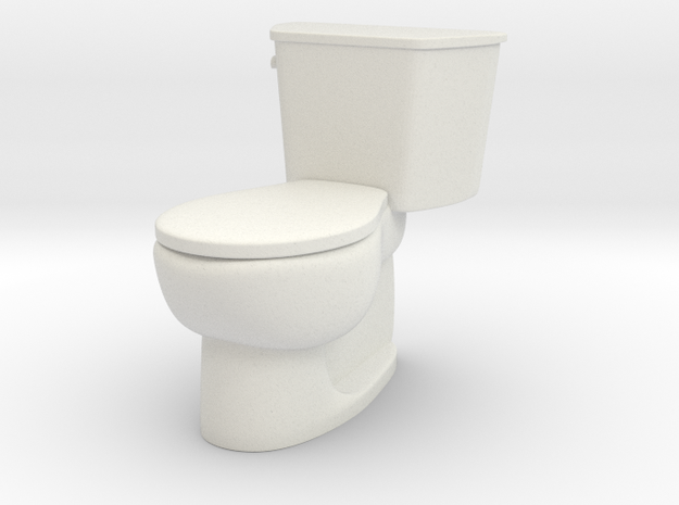 1:24 Tank Toilet (Not Full Size)