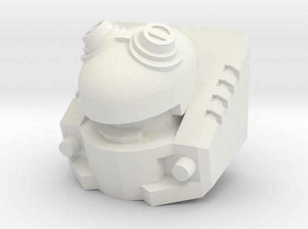 Autonomous Fodder v1.2 in White Natural Versatile Plastic