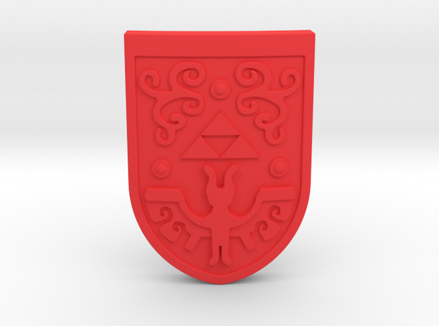 Toon Hero's Shield 3d printed