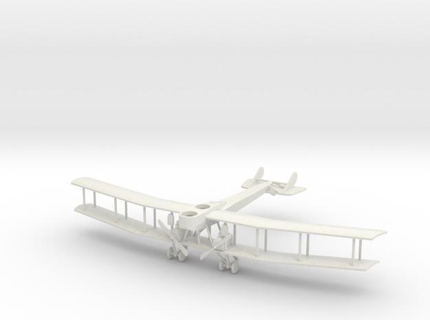 "Gotha Ursinus G.1 ""Production Model"" 1:144th Scale in White Natural Versatile Plastic"