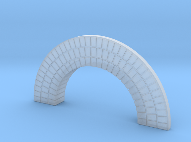Brick Arch HO 02 in Smooth Fine Detail Plastic