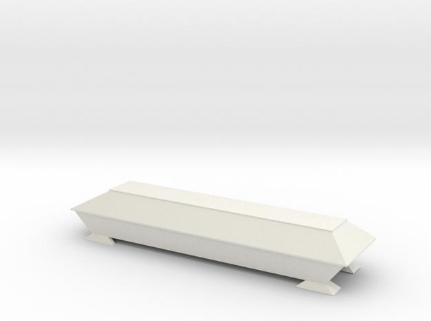 Sarg für Spur Z 1:220 in White Natural Versatile Plastic