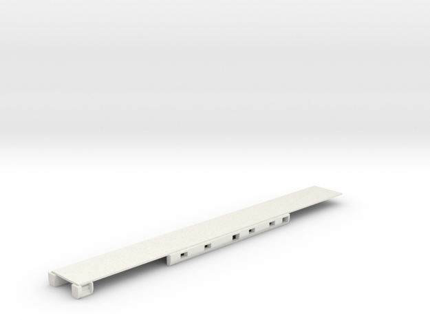 N Scale Rocky Mountaineer A Series Floor Updated in White Natural Versatile Plastic