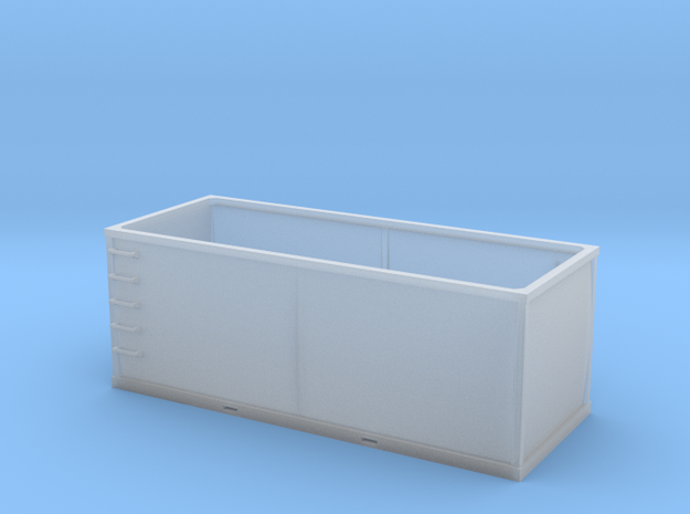 HO 1/87 Container 01 - Tie or Dirt (FUD material) in Smooth Fine Detail Plastic
