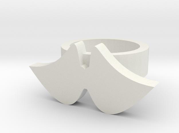 wings ring 3d printed