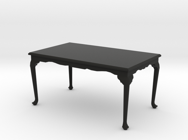 1:24 Queen Anne Table, Large 3d printed
