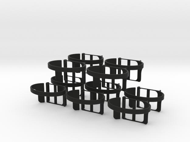 nanolet   medium x10 in Black Natural Versatile Plastic