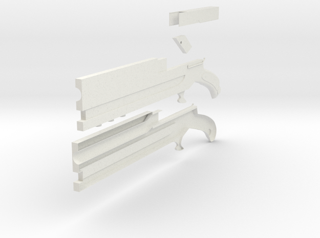 Bolverk in White Natural Versatile Plastic