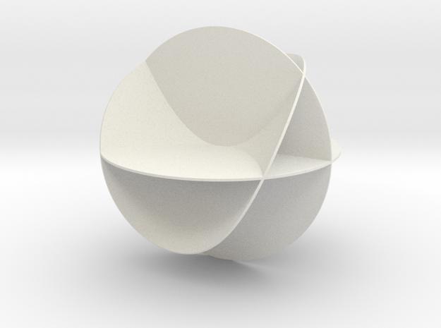 Tuelle - Entdeckerbox version in White Strong & Flexible