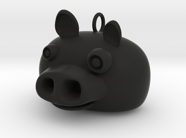 Angry Birds Pig pendant 3d printed
