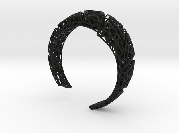 VoronoiBracelet v020 Small/Sexy/Asymmetrical 3d printed