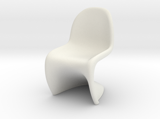 Panton Chair Scale 1/10 (10%) 3d printed