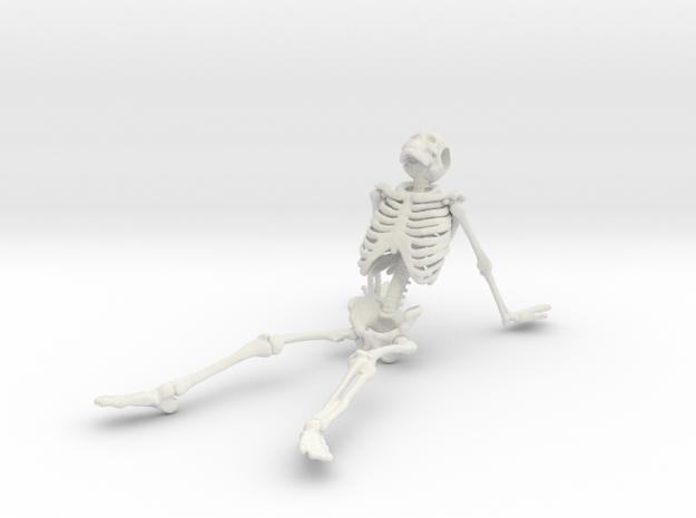 Skeleton stargazer in White Natural Versatile Plastic