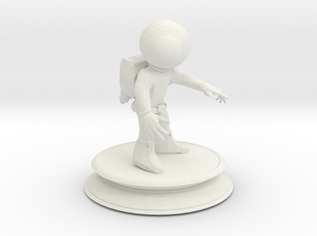 Space Astronaut 3d printed