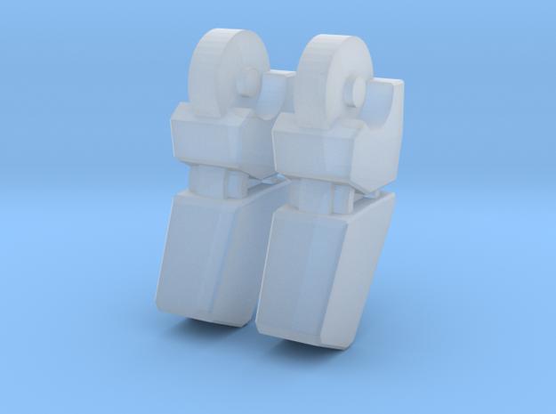 MP-10 Finger V2 1 PAIR in Smooth Fine Detail Plastic