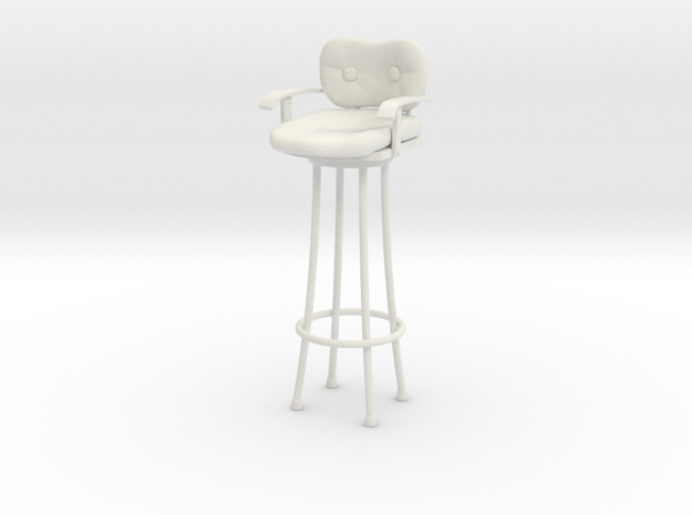 Pint Size Chat - Harry's Bar Stool in White Natural Versatile Plastic