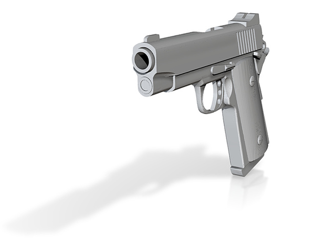 1911 compact 3d printed