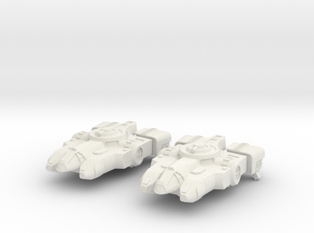 Tahae Tiriti Light Freighter 2x in White Strong & Flexible