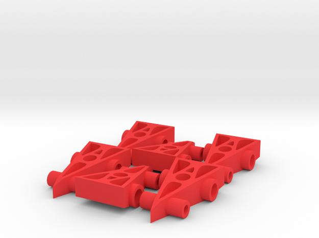 6 F1 Car Game Pieces 3d printed