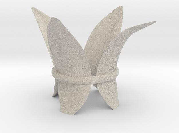 LillyLeaf Tealight Holder 3d printed Concept render.