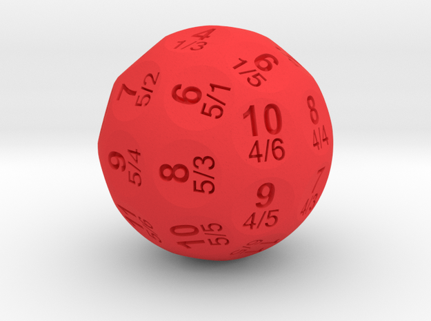 D36 Truncated Individual Numbers Totaled 3d printed