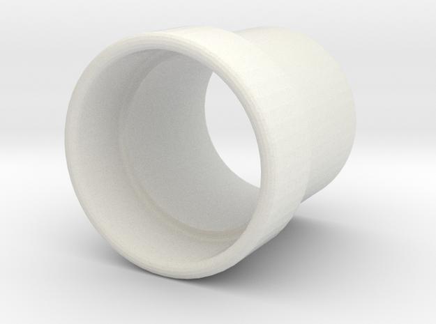 PLAIN ULTRASONIC CONE OPTIMIZED FOR TRANSMITTER in White Natural Versatile Plastic