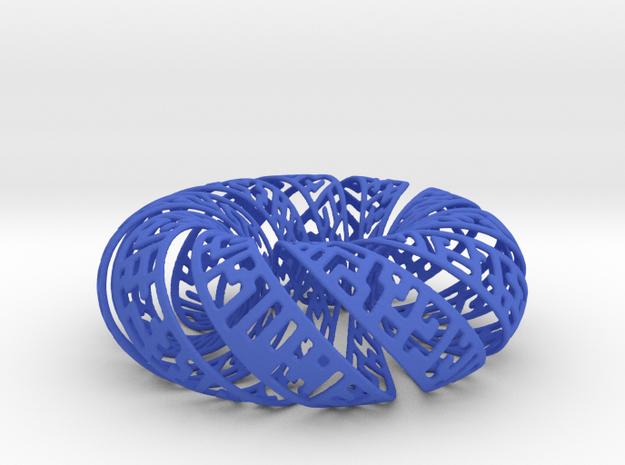 Spiral Gylph Torus 3d printed