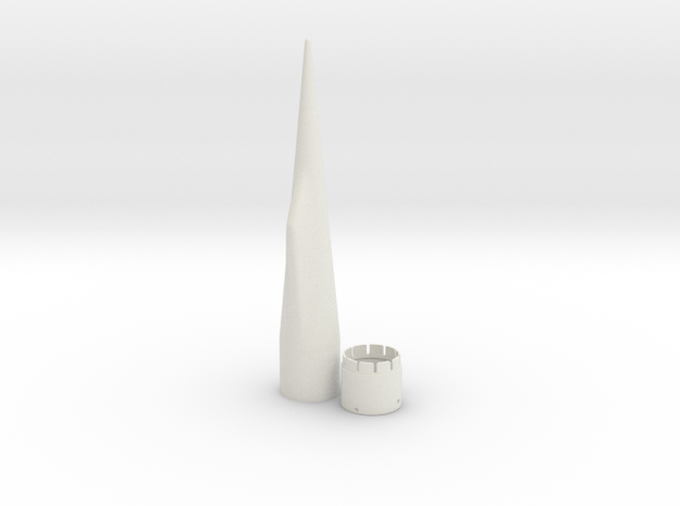 NC-80 (Upscale PNC-50SP) in White Natural Versatile Plastic