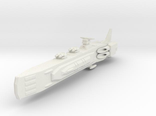 Shadow Rift Mechanized Empire Cruiser in White Natural Versatile Plastic