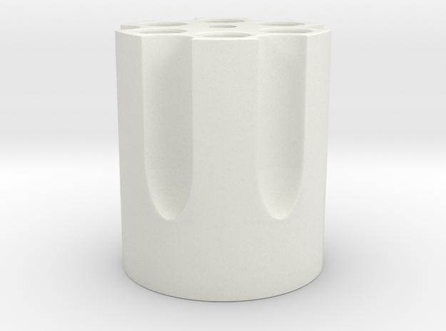 Final Fantasy - Gunblade Chamber in White Natural Versatile Plastic