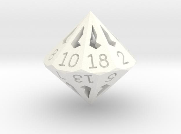 18 Sided Die - Regular 3d printed