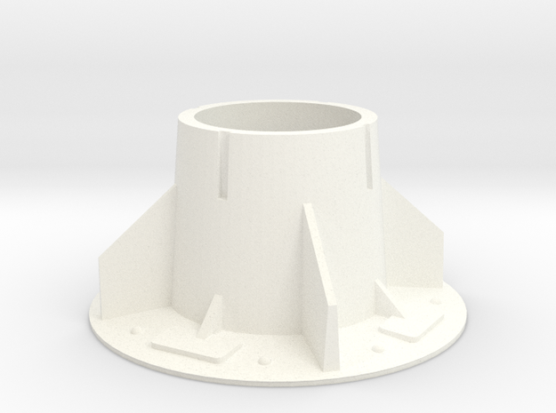 Zoids Stand big size in White Processed Versatile Plastic