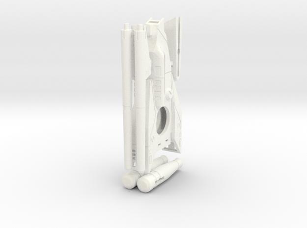 IS_Starship_part1 in White Processed Versatile Plastic