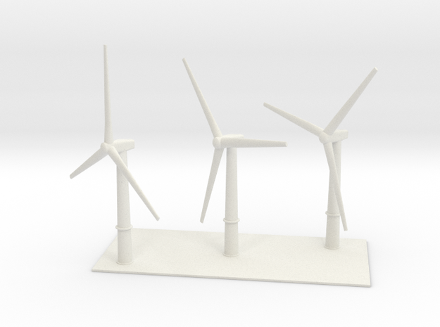 1/700 Wind Farm (x3 Turbines)