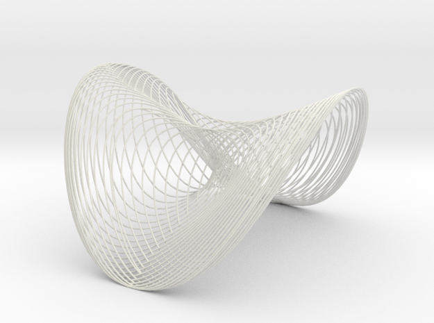 Woven Wobble - flextest in White Strong & Flexible
