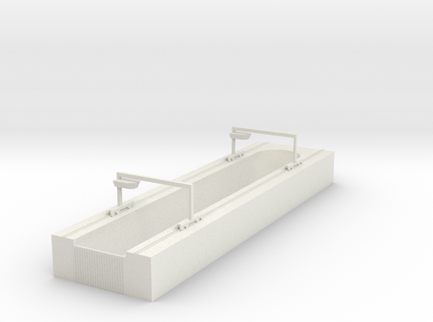 1/700 Dry Dock in White Natural Versatile Plastic