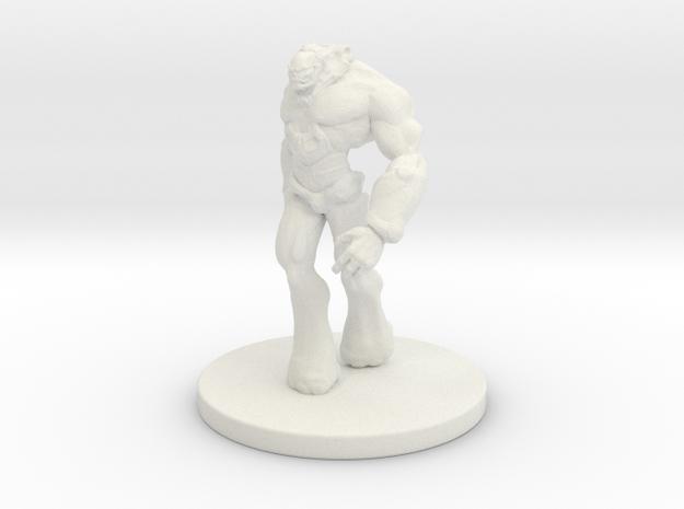 1 Inch Genetic Mutant 3d printed