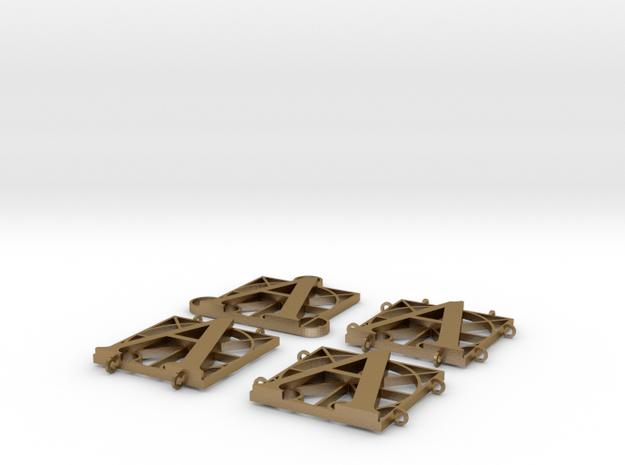 Durer Alphabet - A - v1v2v3v4  3d printed