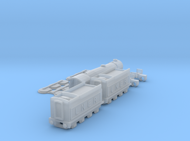 Flying Scotsman T-Gauge Version 3 - Uses Eishindo  in Smooth Fine Detail Plastic