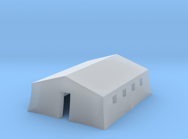 1/350 Tent Barracks in Smooth Fine Detail Plastic