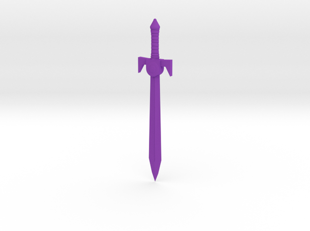 Royal Sword 200x 3d printed