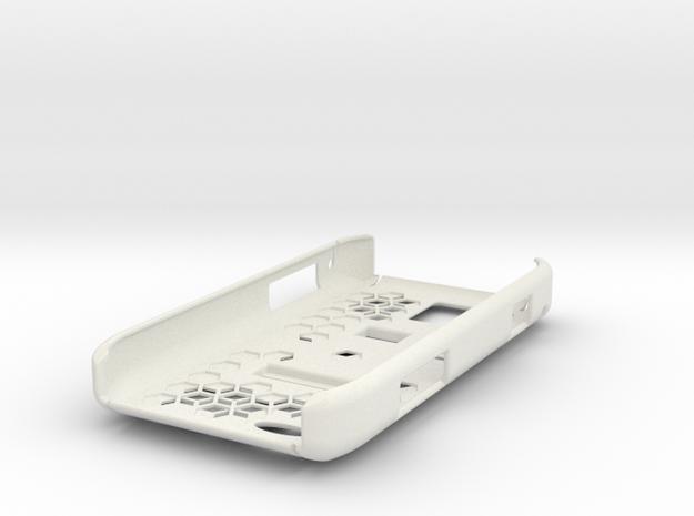OminaII Cover in White Natural Versatile Plastic